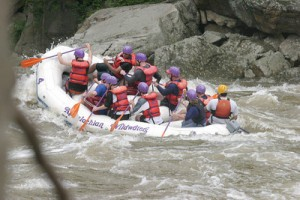 Boy Scout whitewater rafting 061603 08-S